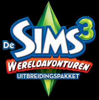 De Sims 3: Wereldavonturen logo