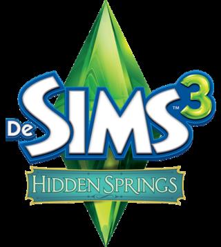 De Sims 3: Hidden Springs logo