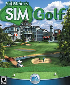 Sid Meier's SimGolf packshot box art