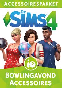 De Sims 4: Bowlingavond Accessoires packshot box art