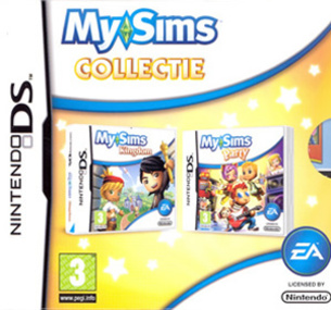MySims Collectie DS box art packshot