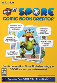 MashOn Spore Comic Book Creator box art packshot