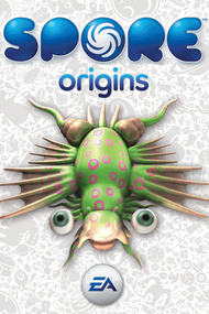Spore Origins box art packshot