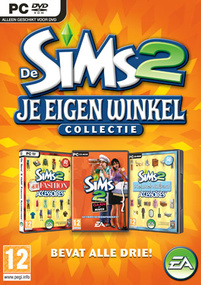 De Sims 2: Je Eigen Winkel Collectie box art packshot
