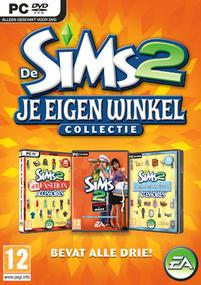 De Sims 2: Je Eigen Winkel Collectie box art packshot