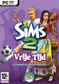 De Sims 2: Vrije Tijd box art packshot
