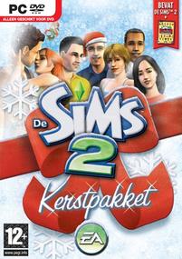 De Sims 2: Kerstpakket (2006) box art packshot