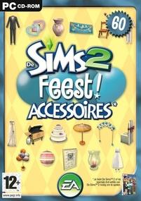 De Sims 2: Feest! Accessoires box art packshot