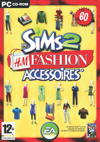 De Sims 2: H&M Fashion Accessoires box art packshot