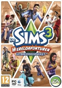 De Sims 3: Wereldavonturen box art packshot