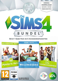 De Sims 4: Bundel Pack #1 Packshot Box Art