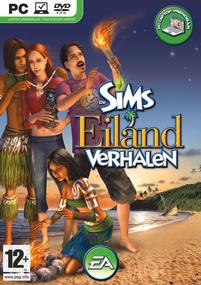 De Sims: Eilandverhalen box art packshot