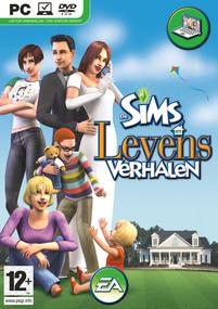 De Sims: Levensverhalen box art packshot