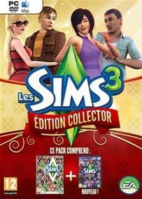 Les Sims 3 Édition Collector (Pack Noel) packshot box art