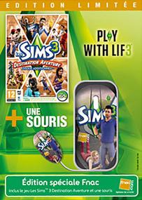 Les Sims 3: Destination Aventure + Souris (Edition Limitée) packshot box art