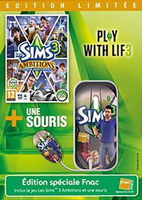 Les Sims 3: Ambitions + Souris (Edition Limitée) packshot box art