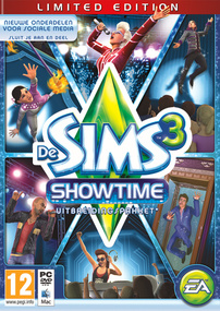 De Sims 3: Showtime (Limited Edition) packshot box art