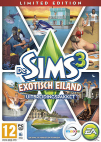 De Sims 3: Exotisch Eiland (Limited Edition) packshot box art