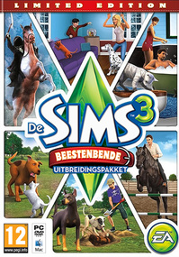 De Sims 3: Beestenbende (Limited Edition) packshot box art