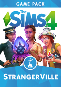 The Sims 4: Strangerville packshot cover box art