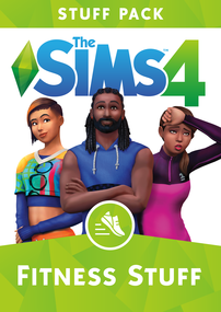 The Sims 4: Fitness Stuff packshot box art