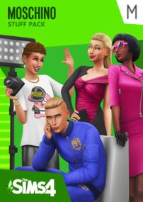 The Sims 4: Moschino Stuff Pack Box Art Packshot Cover