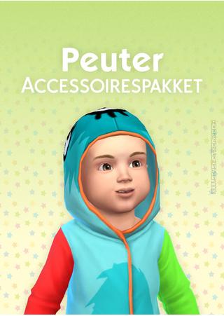 De Sims 4: Peuter Accessoires box art packshot gemaakt door SNW