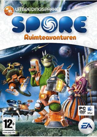 Spore: Ruimteavonturen box art packshot