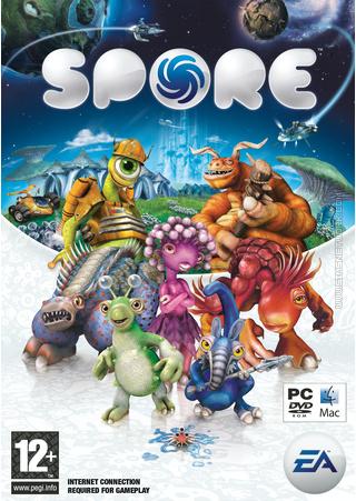 Spore box art packshot