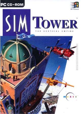 SimTower Sim Tower packshot box art