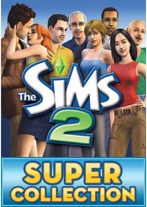 The Sims 2: Super Collection for Mac packshot box art