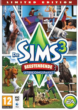 De Sims 3: Beestenbende (Limited Edition) packshot box art