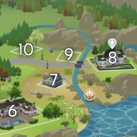 The Sims 4: Brindleton Bay world neighbourhood #2